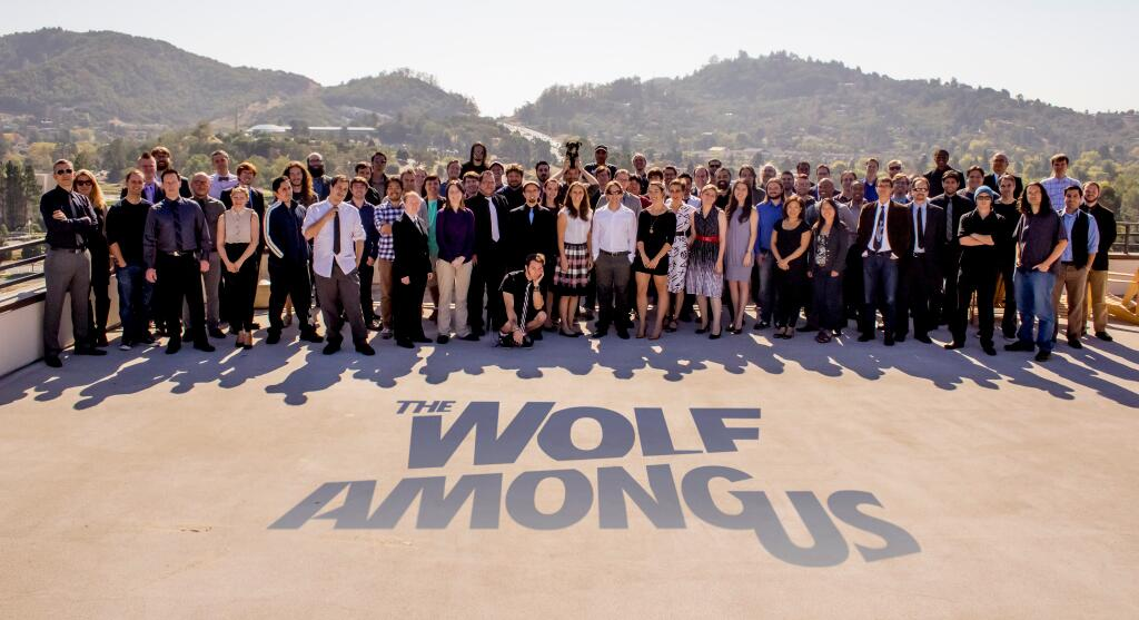 The Wolf Among Us team on launch day.jpg
